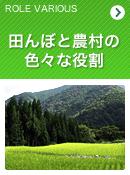 田んぼと農村の色々な役割