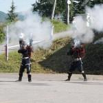 オ-プニングの鉄砲宇隊