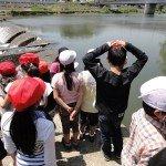 平成28年度 南小泉小学校「七郷堀、愛宕堰踏査」が開催